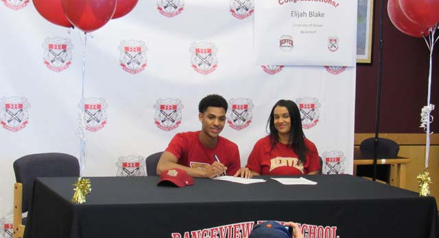 Blake Signs With DU