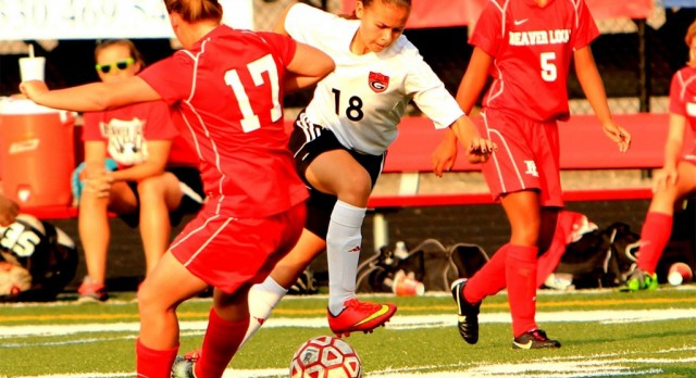 Girard High School Girls Varsity Soccer beat Struthers High School 16-1