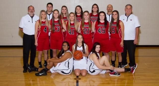 Girard High School Girls Varsity Basketball beat Beaver Local High School 56-29