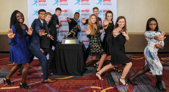 Sarah Ryser and Anthony Costarella Win The Heisman
