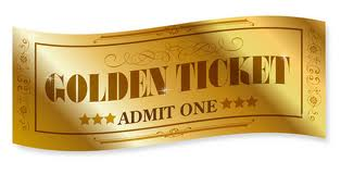 Golden Ticket For Athletics Participation