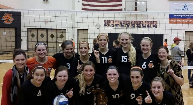 Byron Center Volleyball MHSAA District Champions!