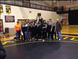 BC Wrestlers OK Green Conference Champs!