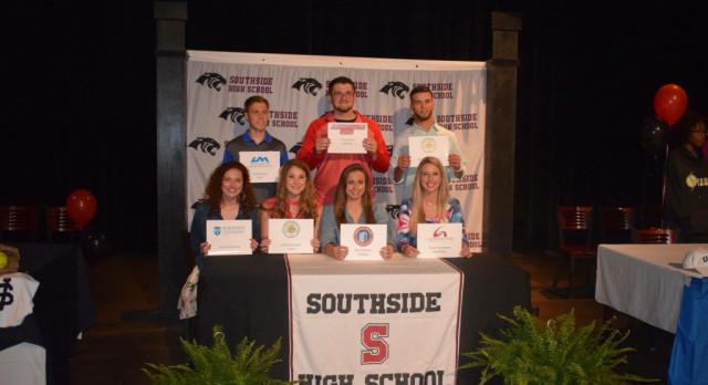 Senior Athletes College Signing Day