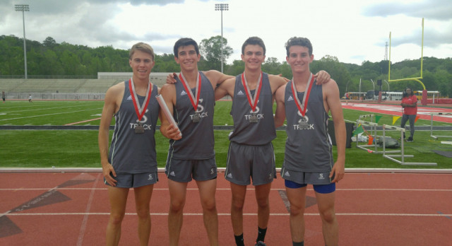 Track Team Competes in Sectional Tournament