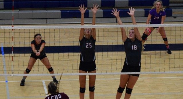 Lady Lions Open With Sweep
