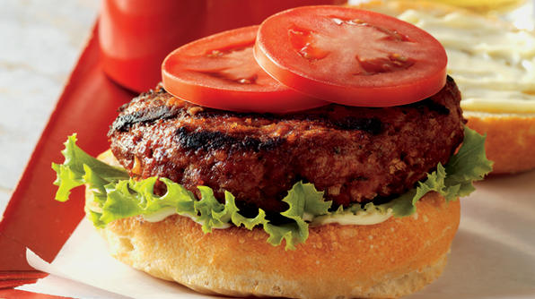 Pork or Bacon Burgers!