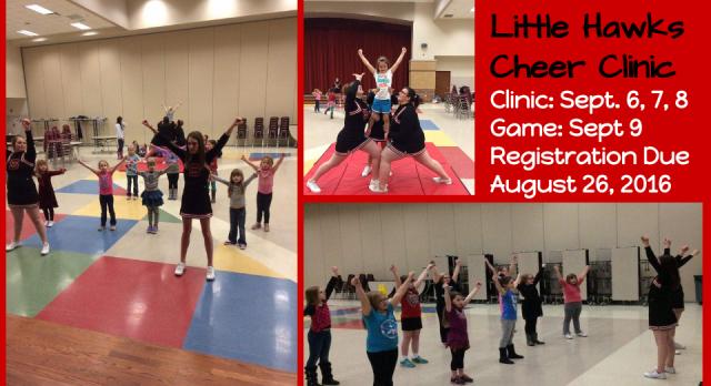 Little Hawks Cheer Clinic