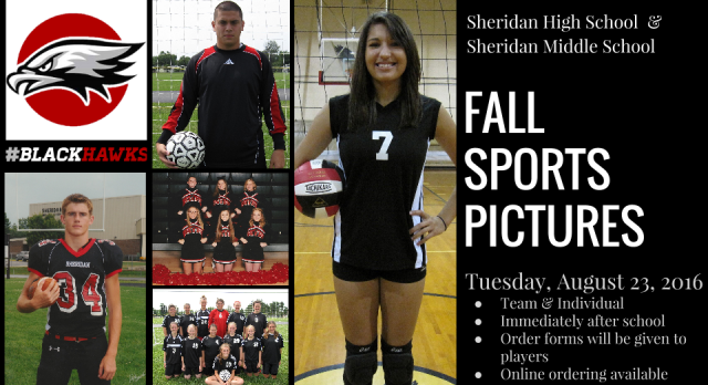 Fall Sports Picture Day