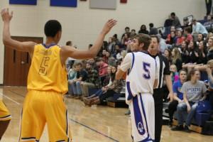 Varsity Basketball vs Wren 1-21-16 104