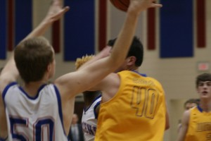 Varsity Basketball vs Wren 1-21-16 108