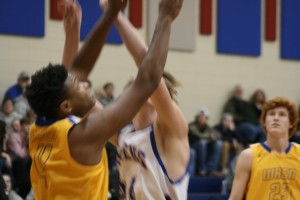 Varsity Basketball vs Wren 1-21-16 100