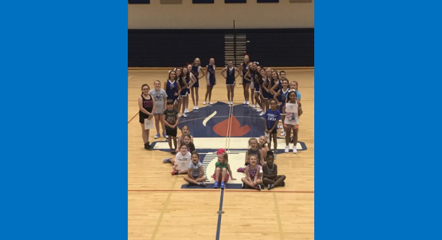 Blue Flame Cheerleading Day Camp Fundraiser