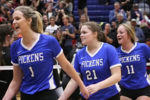 Pickens Volleyball vs Aiken 2017 250