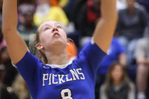 Pickens Volleyball vs Aiken 2017 221