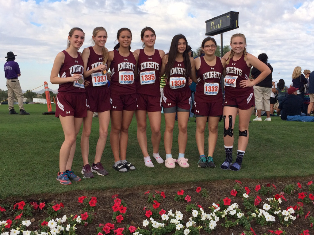 Girls team at State