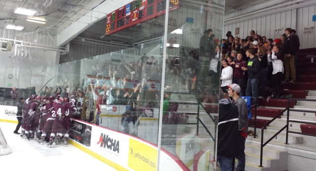 Grandville Hockey beat GR West Catholic 3-2 OT