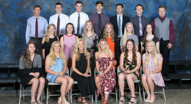 2017 Spring Sports All Conference and Honorable Mention Athletes