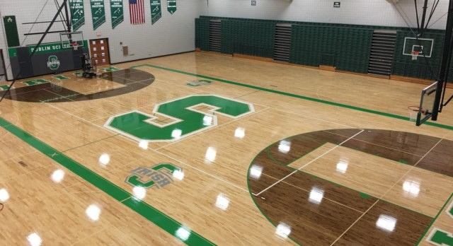 Gym Floor Resurfacing Project (completed Summer 2016)