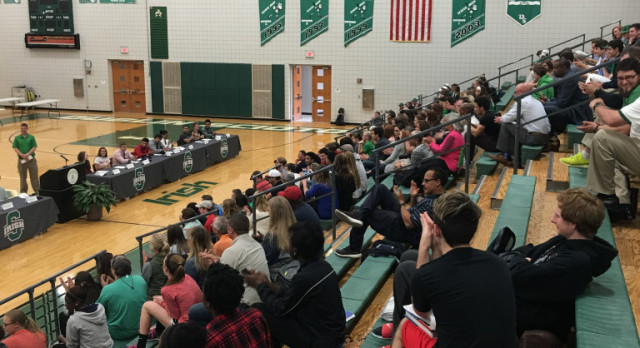 College Announcement Ceremony – May 3, 2017 (2:55pm)