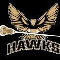 Prairie View Hawks Lacrosse Logo