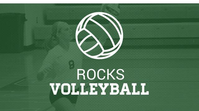 ROCKS Volleyball beats Hilliard Davidson 3-0, Takes A 2 Game lead in the OCC Central