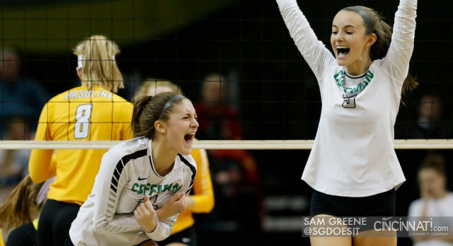 VOLLEYBALL STATE RUN ENDS IN 5 GAMES IN THE STATE SEMI