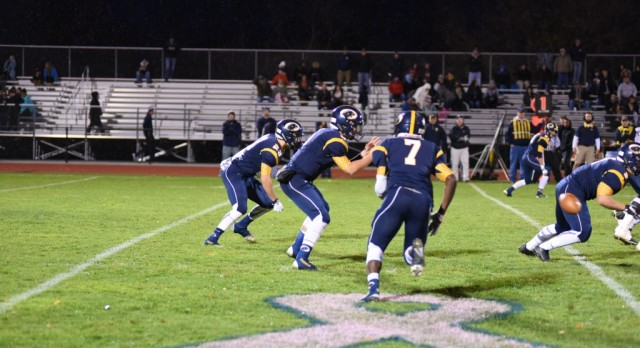 The DeWitt Panthers defeated the Haslett Vikings 38-20 in pre-district playoff action