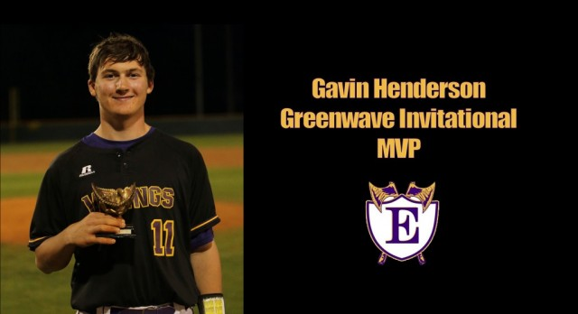 Gavin Henderson Named Tournament MVP