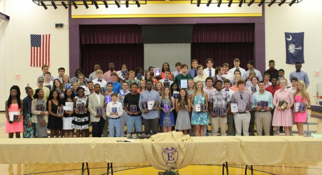 Athletes Honored at Athletic Awards Night