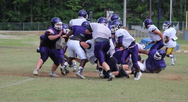 Searles and Patterson Prepared For Spring Game & Fall