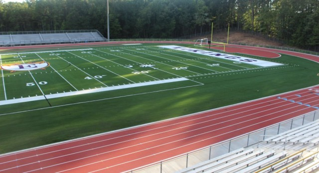 Athletics Complex Nears Completion