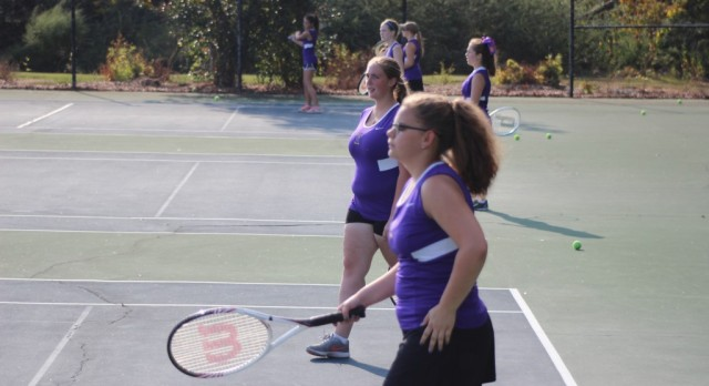 Girls' Tennis vs Greenwood