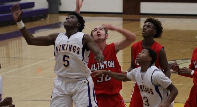 Emerald High School Boys Junior Varsity Basketball falls to Clinton High School 33-20