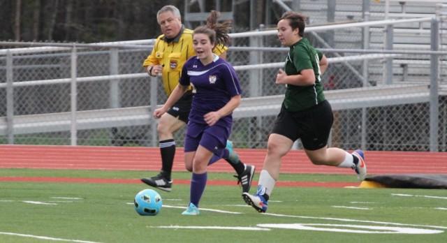 Emerald High School Girls Varsity Soccer beat Laurens District 55 High School 3-0