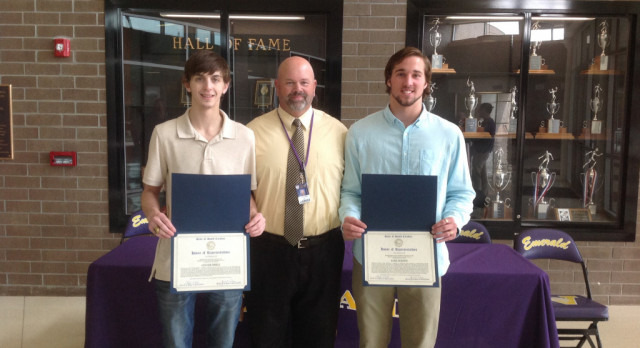 Wrestlers Recognized for Achievements