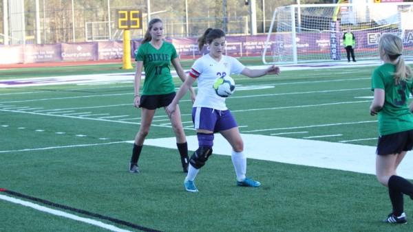 Girls Soccer v Dixie 183