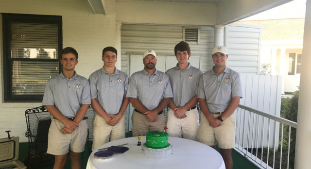 Viking Senior Golfers Finish Regular Season With Victory