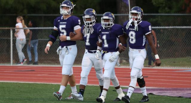 Varsity Football Team Takes Huge Win Friday Night