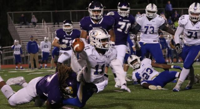 Emerald High School Varsity Football beat Gettis D Broome High School 49-21