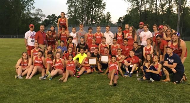 School History–Comet Track & Field Teams Cascade Conference Champions
