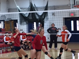 Volleyball Defeats Leslie, Falls to Quincy