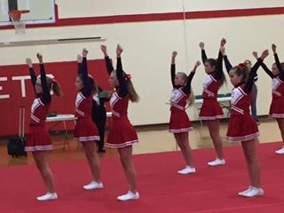 Middle School Cheer Hosts Jamboree
