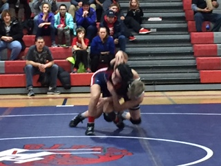 Wrestling Team Can't Get By Vandercook