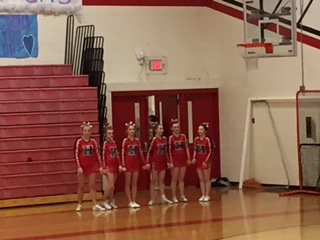 Cheer Team Competes at Conference