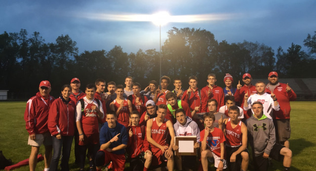 Boys T&F 3X Conference Champs!