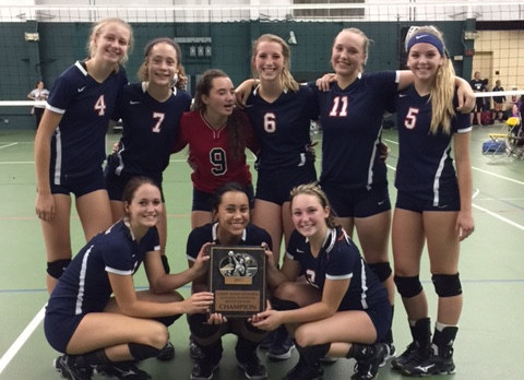 Volleyball Wins Bronze Bracket in Battle Creek
