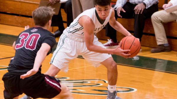 Donovan Warfield 2016-17 Basketball v. University School