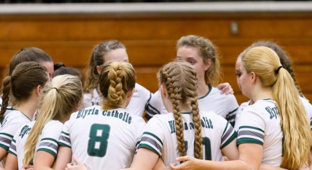 Girls Volleyball to Open Playoffs at Elyria High School