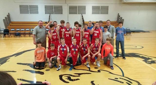 Sagamore Champs! 8th grade wins 1st ever title
